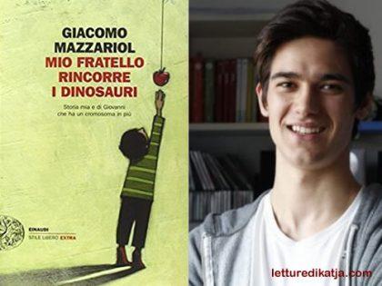 Mio fratello rincorre i dinosauri <br> di Giacomo Mazzariol, Giulio Einaudi