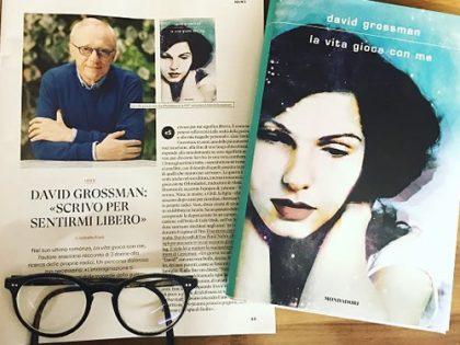 La vita gioca con me <br> di David Grossman, Libri Mondadori